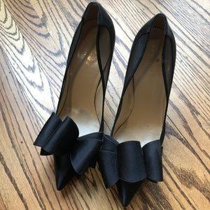 Kate Spade Black Bow High Heel Pumps